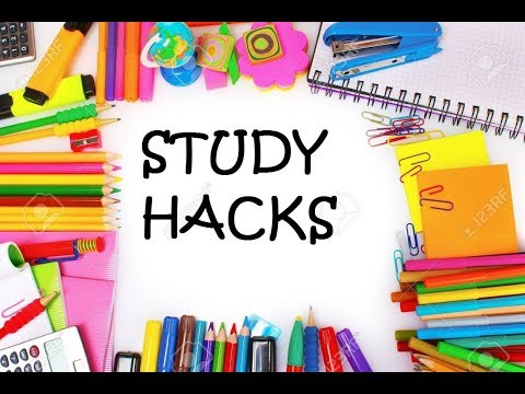 9 SIMPLE BUT EFFECTIVE STUDY HACKS...!!!