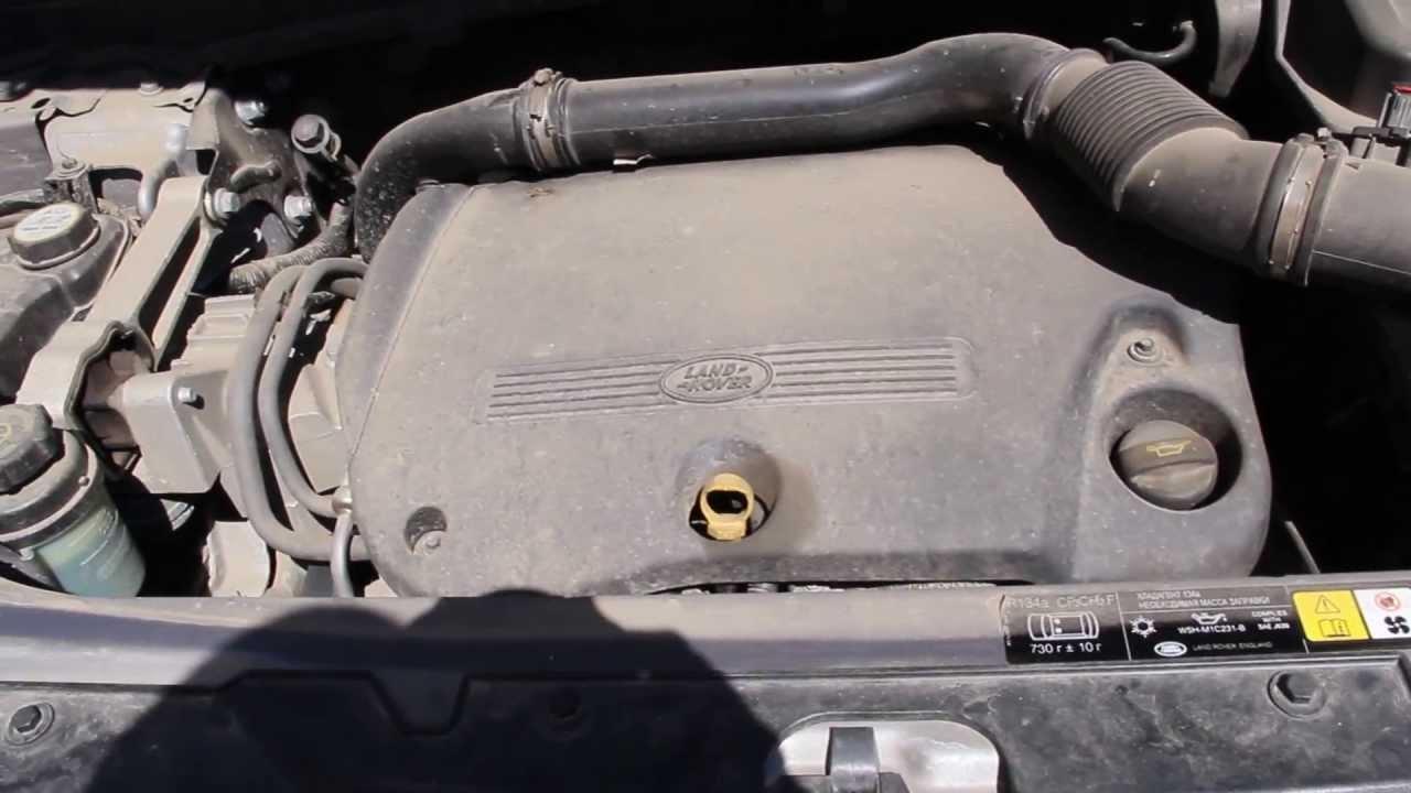 Land Rover Freelander 2 Td4 Engine Sound
