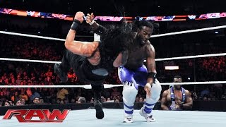 Roman Reigns vs. Kofi Kingston: Raw, June 8, 2015