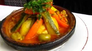 Tagine tiznit poulet au restaurant les saveurs du maroc à Boulogne billancourt 摩洛哥餐馆