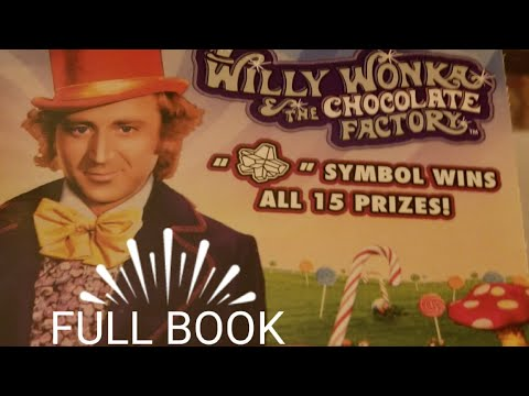 $600 WHOLE BOOK $10 Willy Wonka part 2 Pa lottery scratch tickets