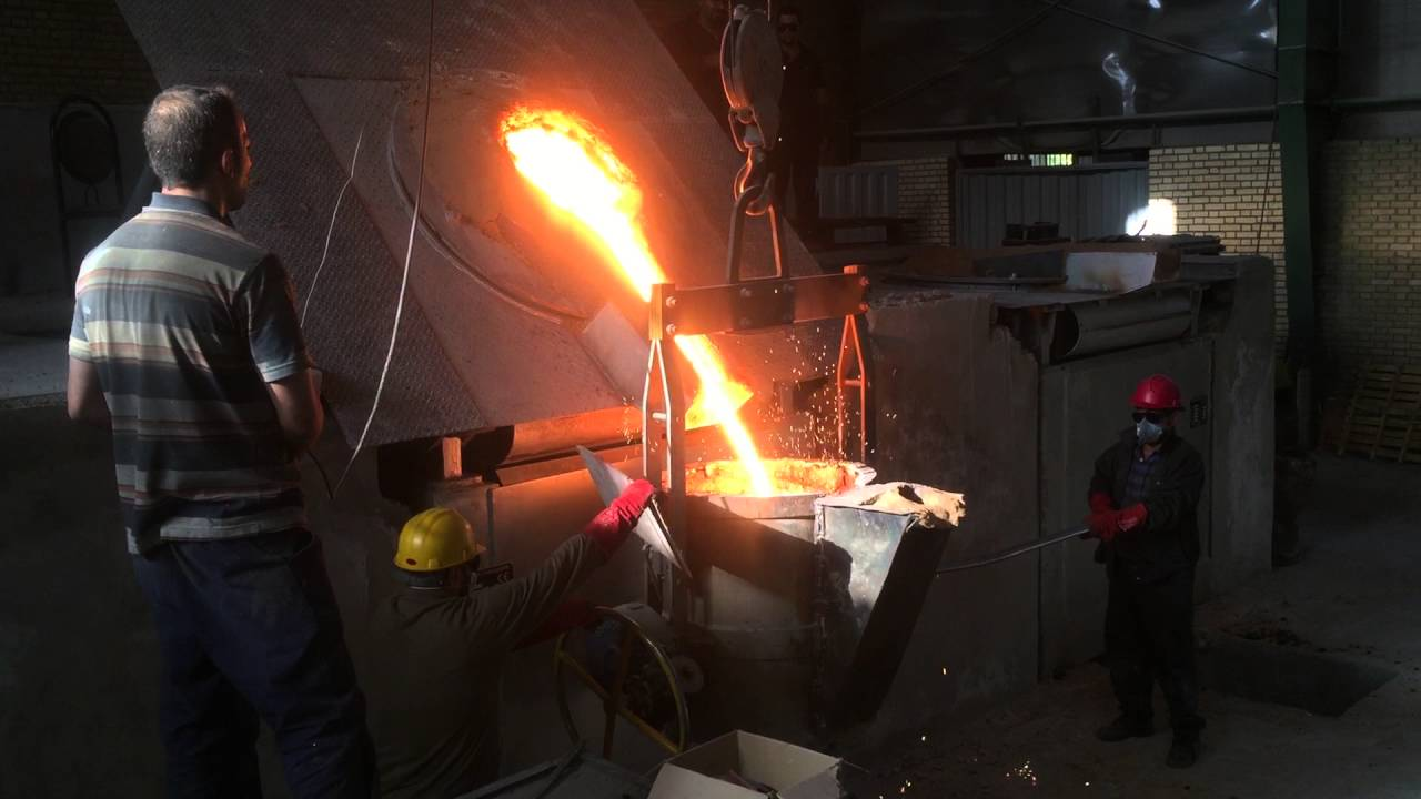 Dual Track Induction Furnace For Foundry