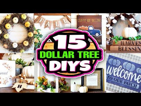 Dollar Tree DIY Fall Decor Ideas On A Budget!