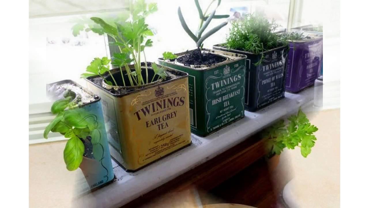 Small Herb Garden Ideas YouTube