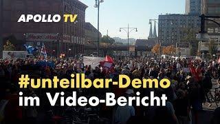 Unteilbar-Demo - Bericht im Video