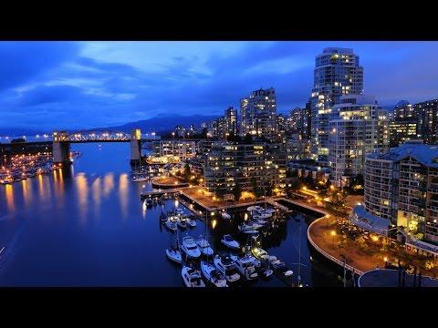 Вид ночного города. Мир путешествий