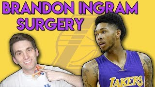 UPDATE! Brandon Ingram DVT Surgery | Doctor Explains Why