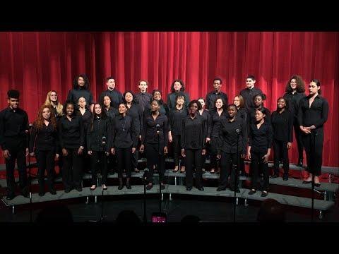 Celia Cruz Bronx High School of Music's Stage Choir (2017 Spring Concert)