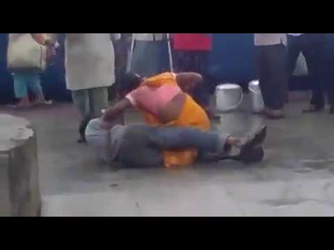 chavs Transsexuals beat up