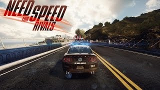 Need For Speed Rivals - Gameplay as a Cop - Hot Pursuit (EMP, Shock Ram)