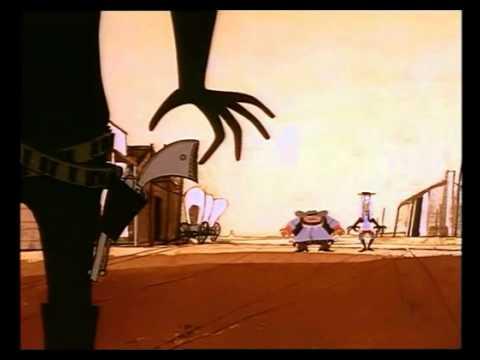 West And Soda (Bruno Bozzetto) - Il duello finale tra Johnny e i banditi