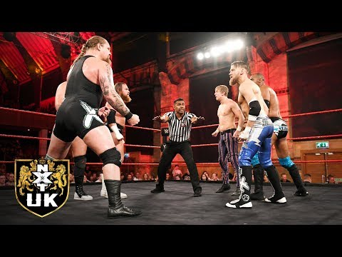 Mark Andrew, Flash Morgan Webster & Ashton Smith vs Wolfgang & Coffey Brothers: NXT UK, Nov. 7, 2018