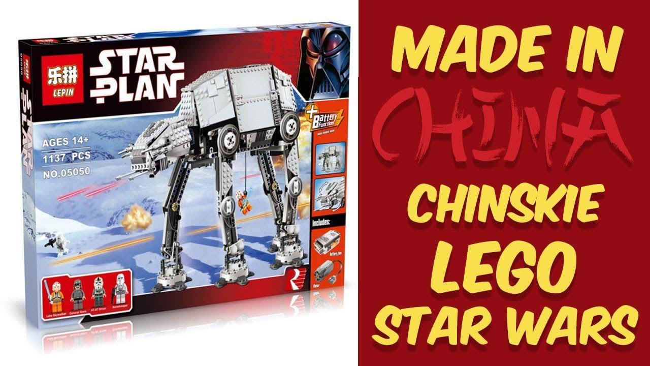 Chińskie Lego Zmotoryzowany At At Star Wars Made In China Czyli