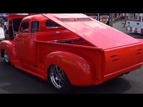 """1948 Mid Engine Chevy Pick Up """" Mid Life Crisis """""""