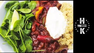 Clean Eating , Chocalate Chilli Con Carne With Quinoa