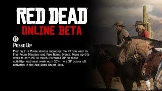Double XP Week!!: Red Dead Redemption 2