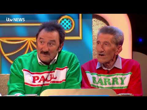 Paul Chuckle pays emotional tribute to brother Barry   ITV News