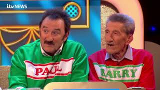 Paul Chuckle pays emotional tribute to brother Barry | ITV News