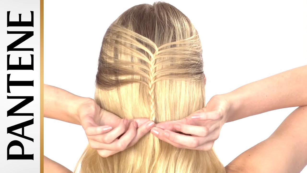 Half French Braid Updo: Half Up Half Down Hairstyles