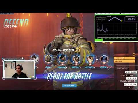Overwatch Breathing Rate | Training Room | Predator