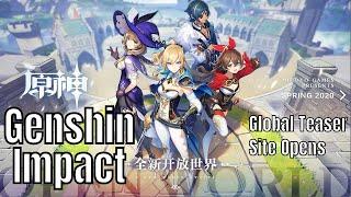Genshin Impact: Teaser Global Site Open/Press Trailer