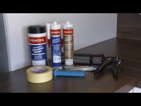 How to remove old caulk and apply silicone to kitchen joints