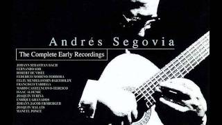 Sarabande (G. F. Händel) - Andrés Segovia