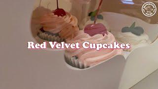 전자레인지로 만드는 레드벨벳 컵케이크 / 선물하기 딱 …