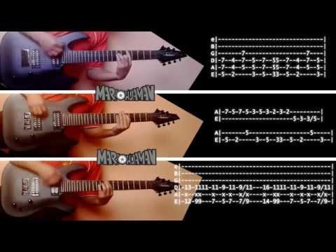 Green Day Revolution Radio GUITAR COVER + TABS TUTORIAL (Guitarras y Bajo)