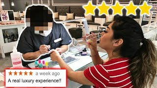 Going To The Best Reviewed *nail Salon* In My City! *5 Star*
