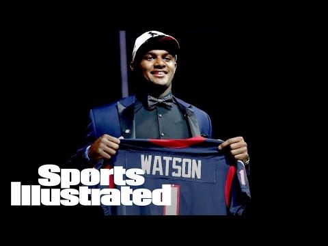 Texans Trade Up To Draft Deshaun Watson At No. 12   NFL Draft   Sports Illustrated