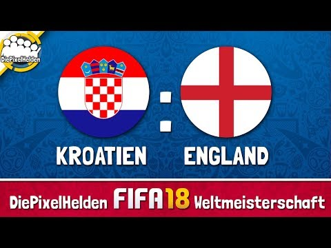 DiePixelHelden FIFA 18 Weltmeisterschaft - Kroatien : England - HALBFINALE