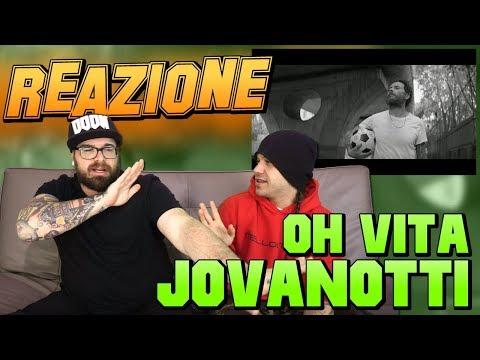 JOVANOTTI - OH, VITA ! | RAP REACTION 2017 | ARCADE BOYZ