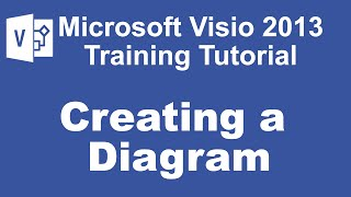 Microsoft Visio 2013 Training Tutorial - Creating a Diagram