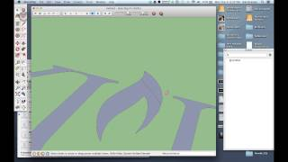 Creating a logo from Illustrator for Sketchup