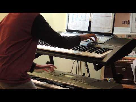 Adada Adada Song By Roger Kiri On Keyboards - Level 5 Student Of SAREGA Music