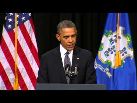 Obama: These Tragedies Must End - Newtown School Shooting