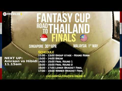 Fantasy Cup - Road to Thailand Singapore Round 1 - Finals