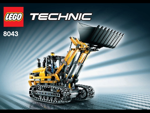 lego technic 8043 excavator b model building. Black Bedroom Furniture Sets. Home Design Ideas