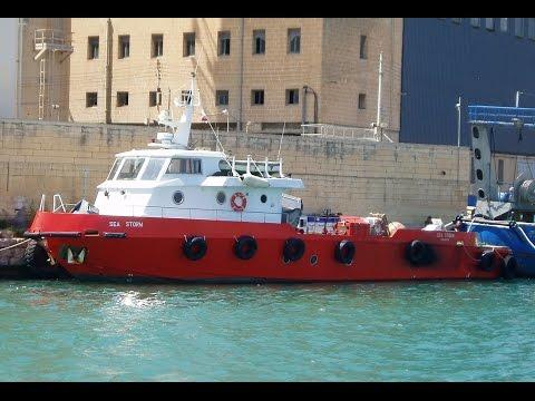 ⚓ shipspotting Valletta, Malta: Offshore Supply Ship SEA STORM MMSI 248600000