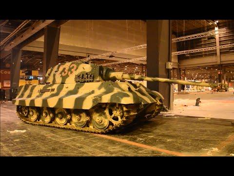 Tiger II starting,