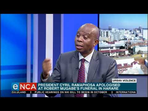 Mashaba says he has nothing to apologise for after xenophobic attacks