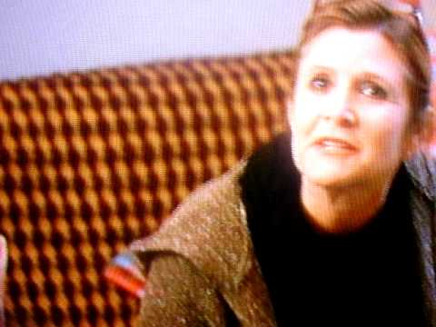 Carrie Fisher on 30 Rock.