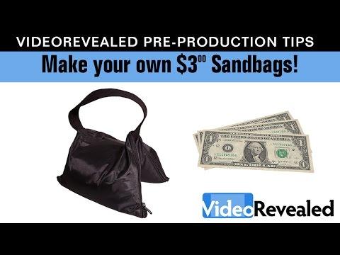 Make Your Own $3.00 Sandbags