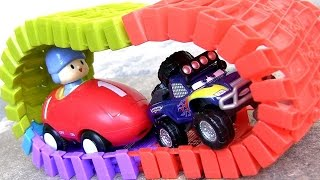Pocoyo Swiggle Traks 포코요 전동 자동차 DisneyPixarCars Off-Road Lightning McQueen Racing Pocoyó RS500