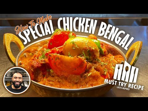HOW TO COOK CHICKEN BENGAL   BIR RECIPE   famous Bangladeshi dish with potato & boiled egg