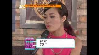dong nhi - bad boy acoustic - yan vpop 20 recap 2014