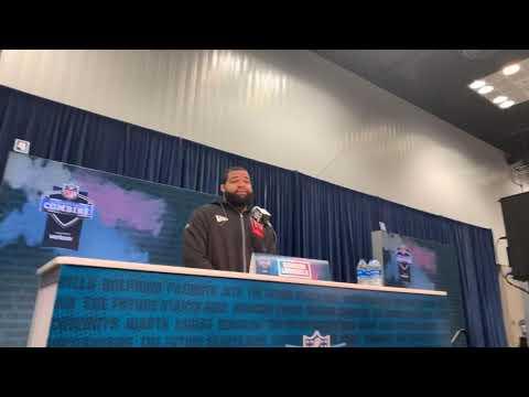 LSU DT Rashard Lawrence Interview At 2020 NFL Combine