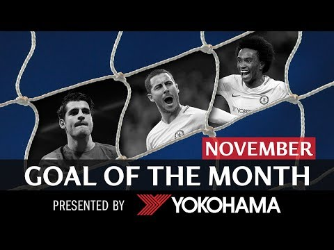 GOAL OF THE MONTH | November | HAZARD, MORATA, WILLIAN!