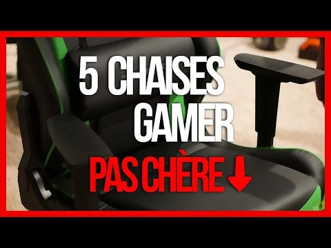 LES MEILLEURS CHAISES GAMER PAS CHER ?!